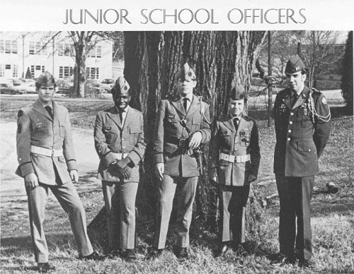 Junior School Officers at Columbia Military Academy